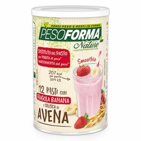 paso forma nature banana e fragola