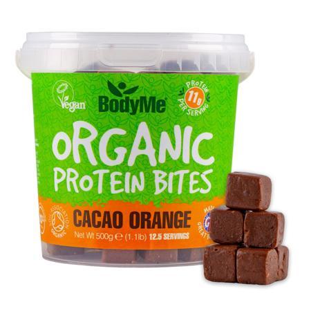 snack proteico vegano al cacao